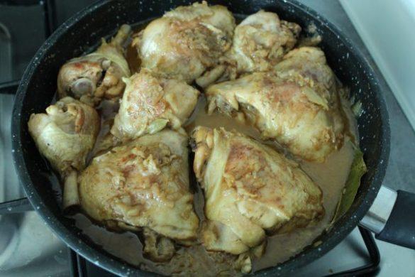 Cuisses de poulet Myanmar ou poulet à la Birmane
