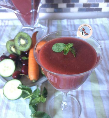 Mocktail aux fruits et légumes (ou Juicing) Vitaminé