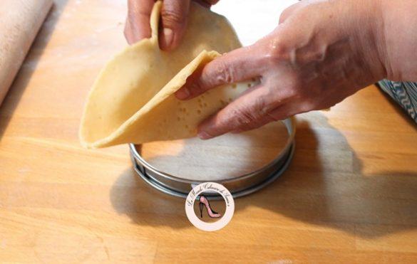 fonçage tarte