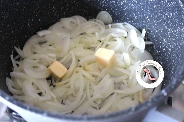 oignons carmélisés au thym