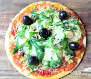 pizza roquette parmesan facile