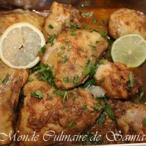 poulet à la birmane facile
