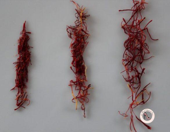 Verrine safranée à l'orientale à la fleur d'oranger et aux fruits secs