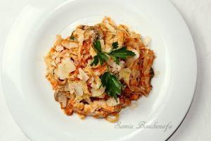 tagliatelles italiennes inratable et facile