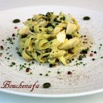 tagliatelles italienne pesto parmesan facile express