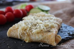 crêpe fromage courgette facile inratable