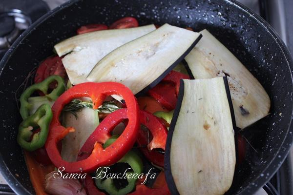 pizza italienne avec légumes samiratv