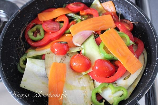 légumes de pizza italienne samiratv