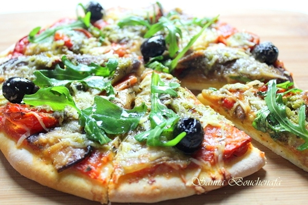 pizza légumes végétarienne italienne