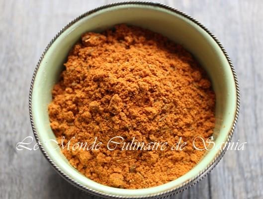 poudre de tandori maison facile inratable recette indienne