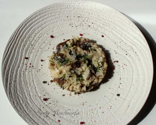 risotto aux champigons