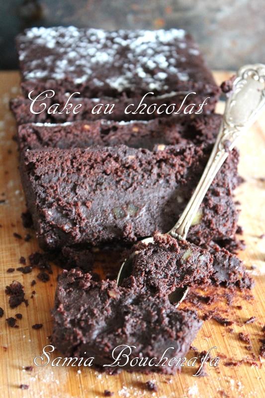Un Cake Au Chocolat Moelleux Et Fondant Sans Levure Chimique Le