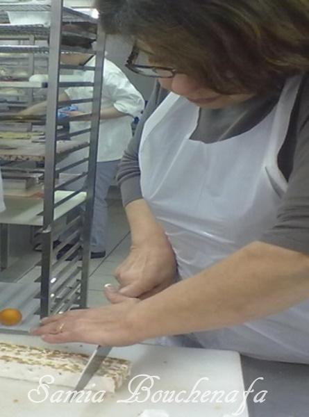 Recette du nougat au miel et aux fruits secs (CAP pâtisserie)