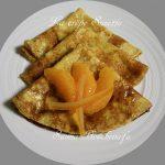 crêpes suzettes à la fleur d'oranger