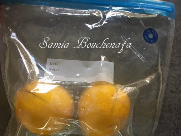 recette des citrons confits au sel