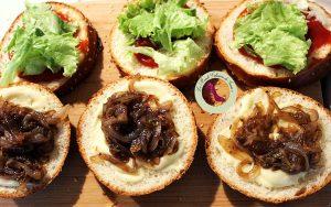 montage hamburger oriental