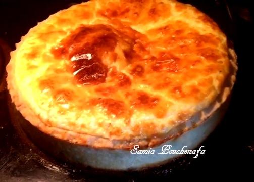 Trop facile la quiche au fromage