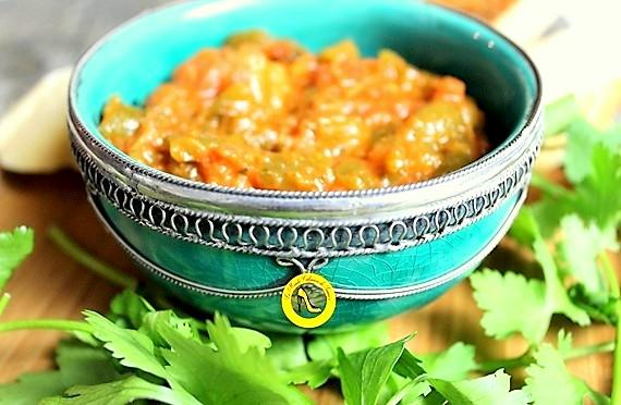 Salade Taktouka Marocaine (poivrons-tomates)