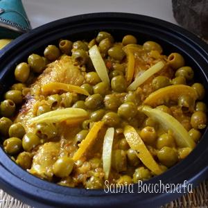 tagine poulet citron olives recette