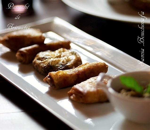 panaché de briouates marocaines