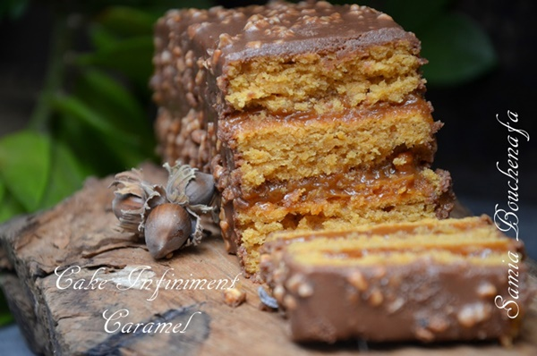 cake infiniment caramel