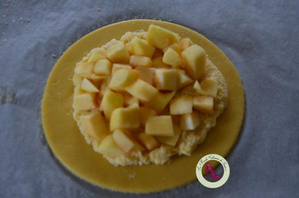 pommes pour sablé breton