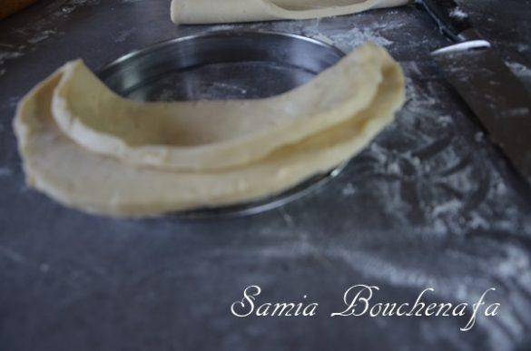 Tarte feuilletage semi-inversé aux figues et noix