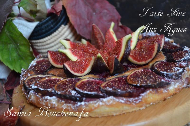 tarte fine aux figues