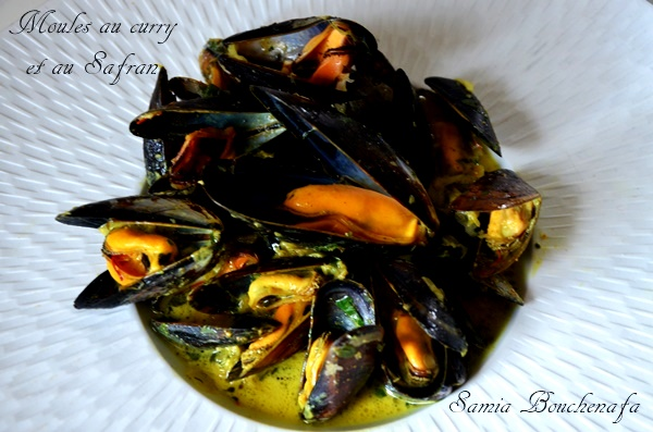 moules au curry et safran