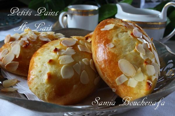 pains au lait maison recette facile samia bouchenafa