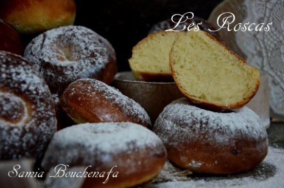 roscas espagnol beignets au four sans huile