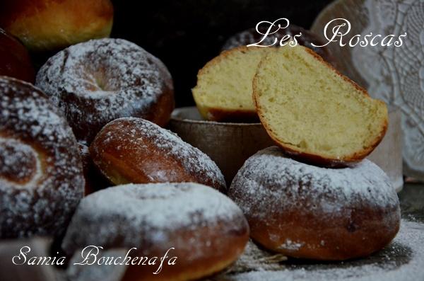 Roscas espagnols beignets au four et sans huile