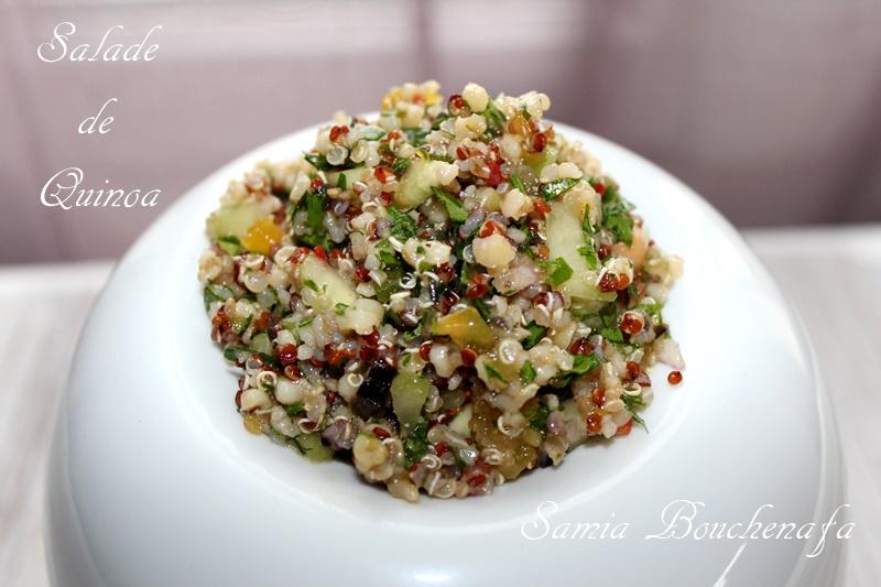 quinoa façon taboulé