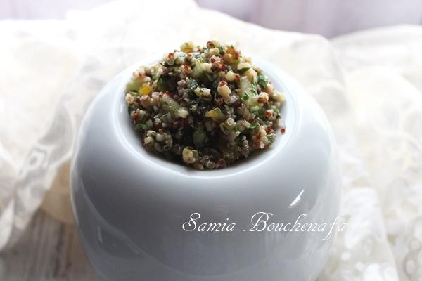 taboulé salade de quinoa