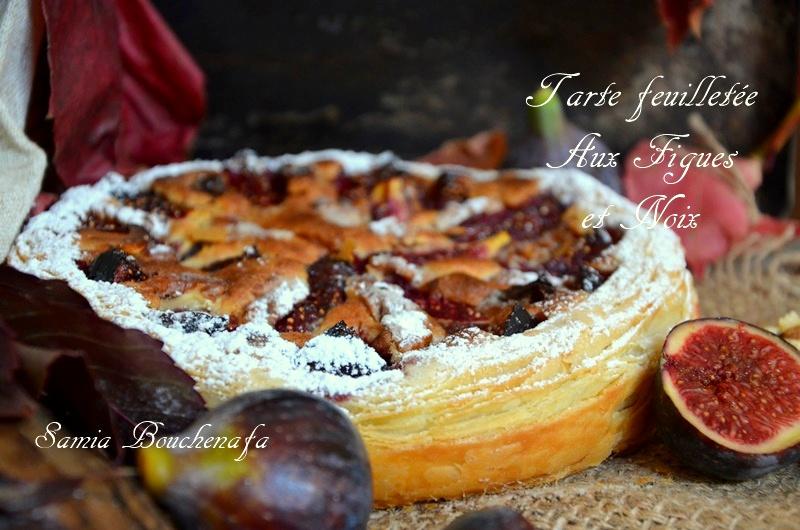 tarte pâte feuilletée semi-inversée