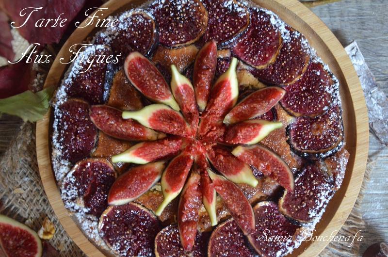 tarte fine feuilletée aux figues