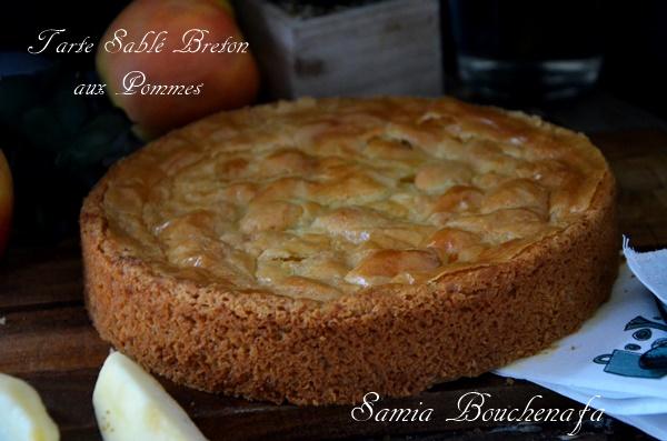 tarte sablé breton pomme creme amande