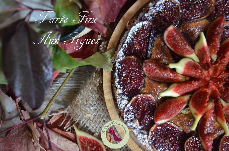 tarte feuilletée figues fraîches