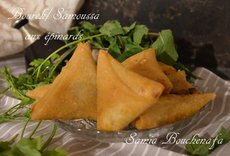 bourek samoussa triangle épinard viande hachée fromage