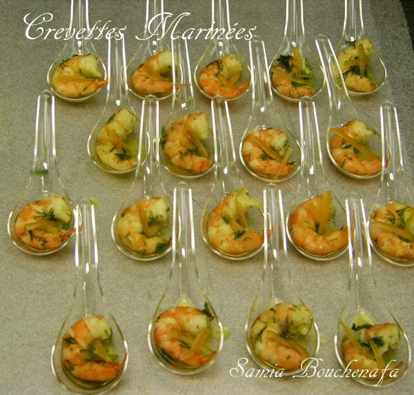 apéro noel nouvel an crevettes