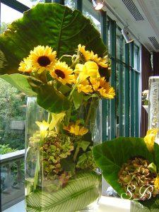 fleurs pour buffet traiteur