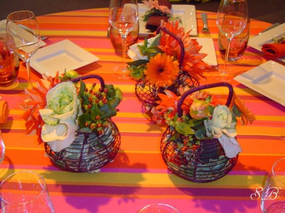 décor kitsch buffet cocktail traiteur