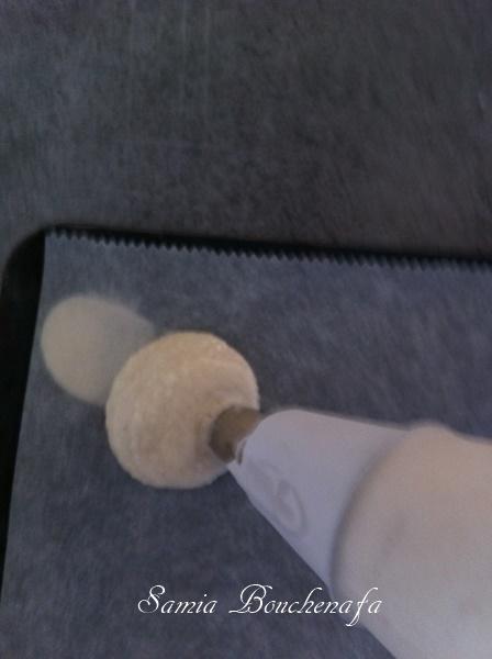dressage des macarons