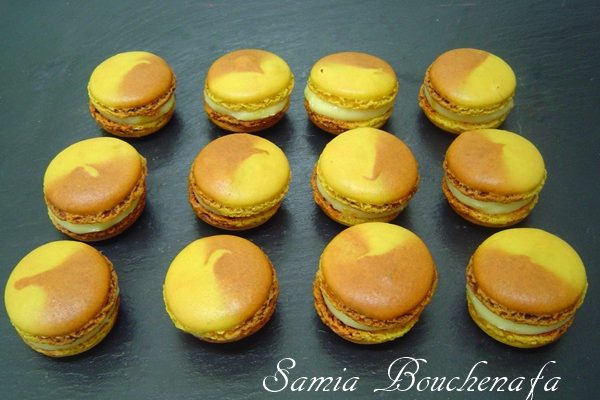 les coques de macaron réussies-recette meringue italienne