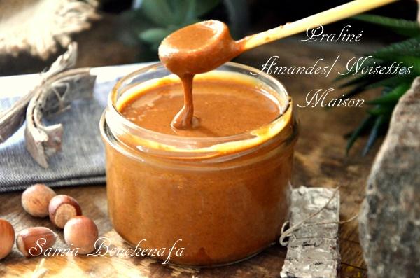 Recette véritable de pâte de praliné amandes noisettes maison