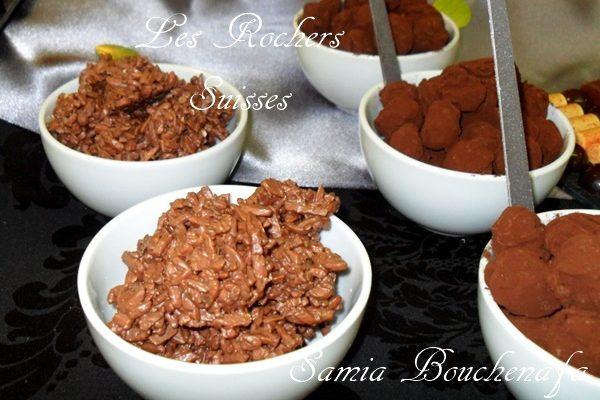 Rochers Suisses au chocolat facile pour les nulles