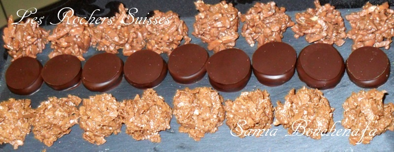 rocher inratable au chocolat facile