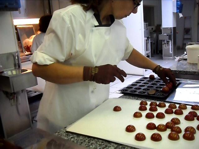 samia bouchenafa, cheffe pâtissière et chocolat