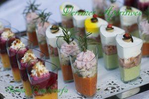 verrines apéritives festives réveillon