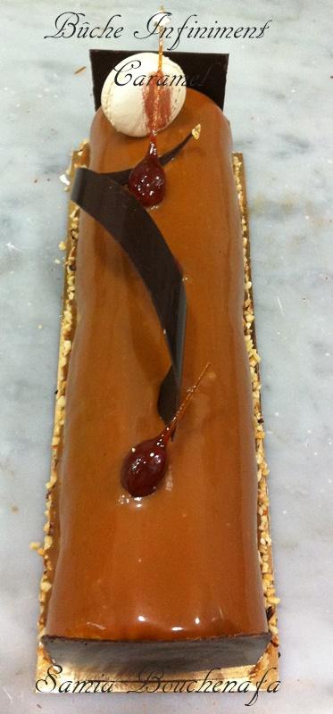 bûche de noel au caramel